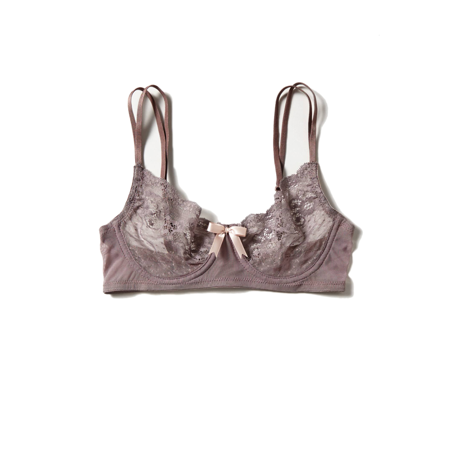Eberjey Anouk Underwire Bra Brown
