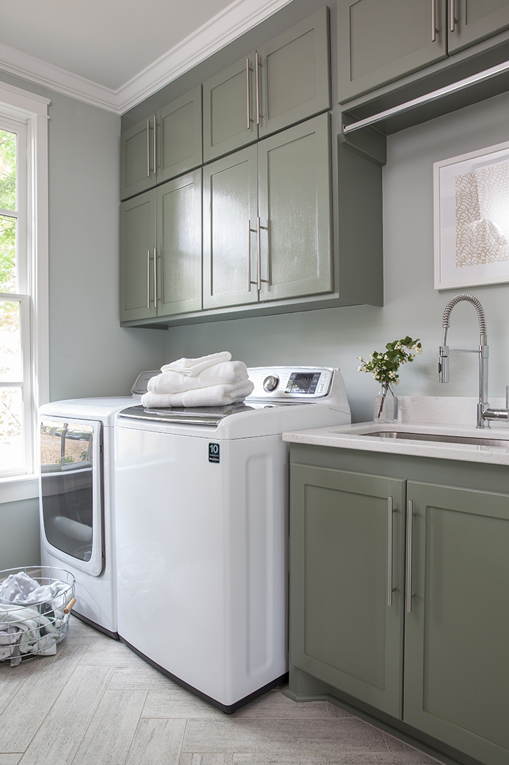 Nashville home laundry room after renovation