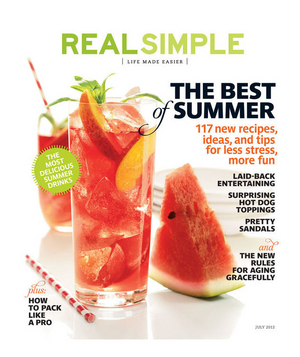 Real Simple July 2012