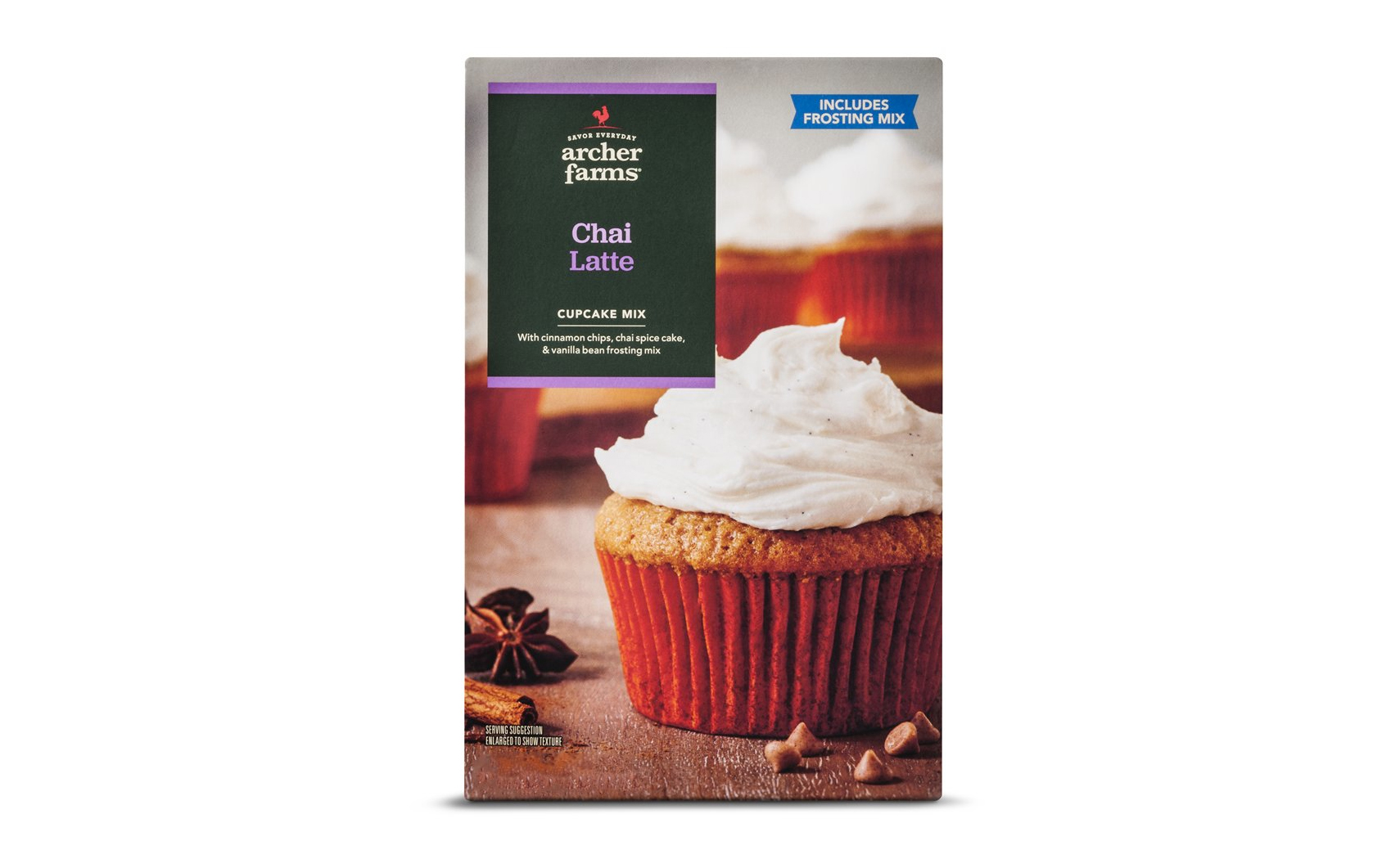 Archer Farms Chai Latte Cupcake Mix