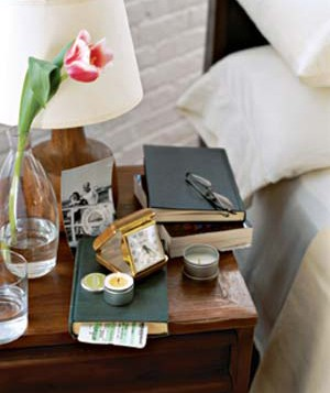 books and eyeglasses on a table