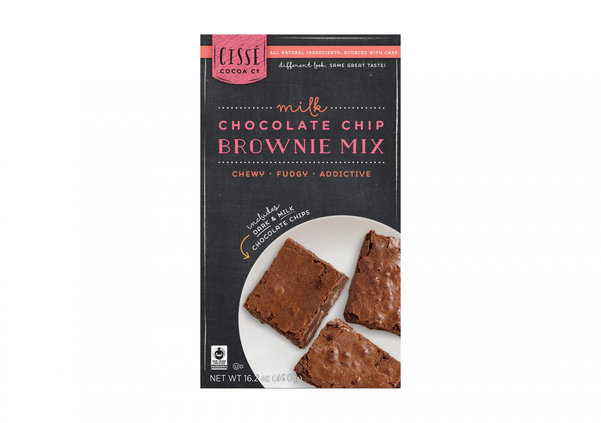 Cissé Trading Co. Milk Chocolate Chip Brownie Mix