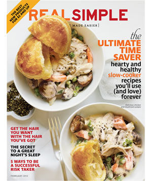 Real Simple February 2012