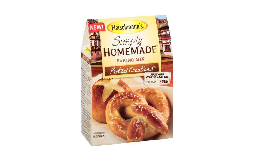 Fleischmann's Simply Homemade Pretzel Creations Baking Mix