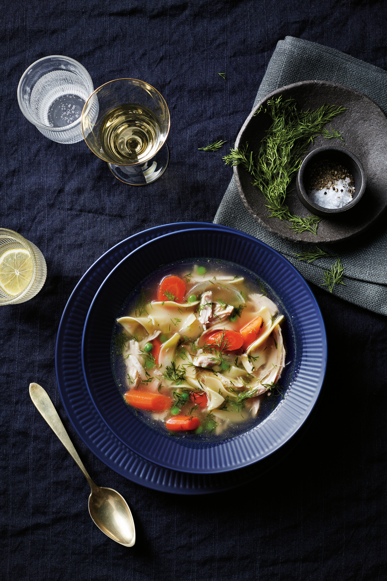 lemon-dill-chicken-noodle-soup