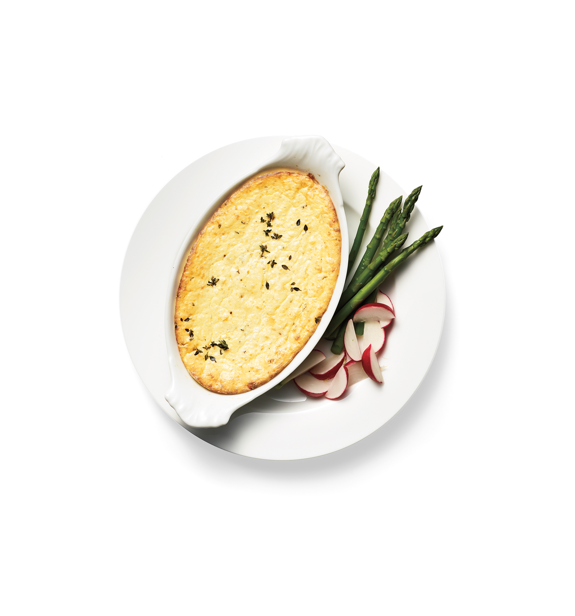Baked Ricotta with Parmesan and Herbs