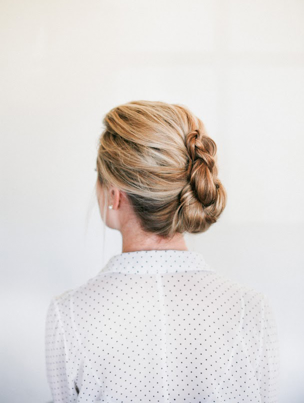 Office ready hairstyles real simple braided french twist solutioingenieria Gallery