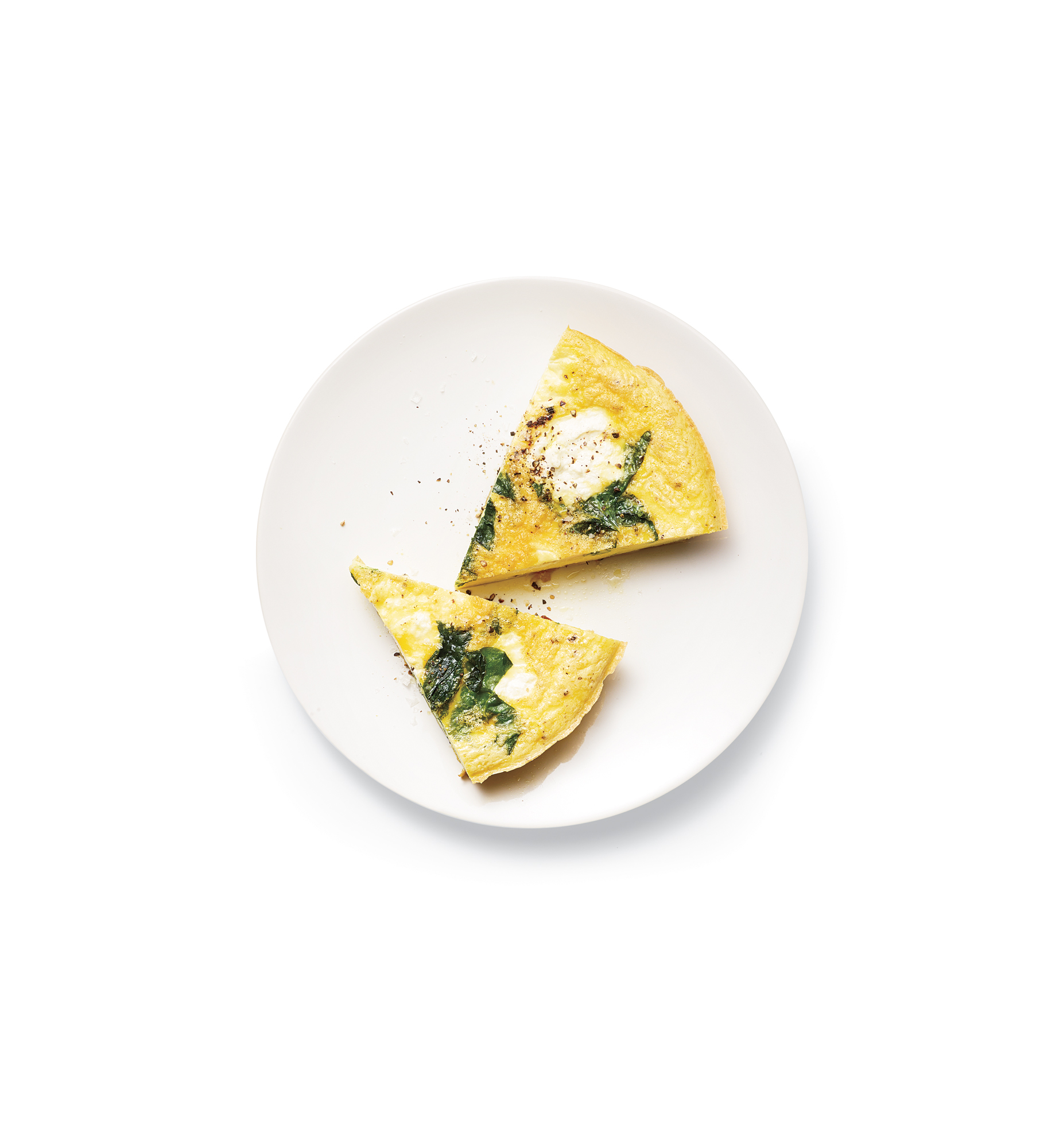 Chard and Ricotta Frittata