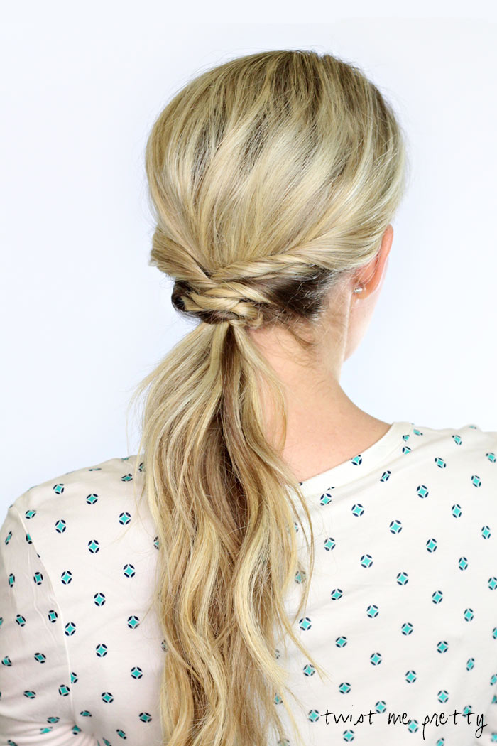 Weaved Ponytail