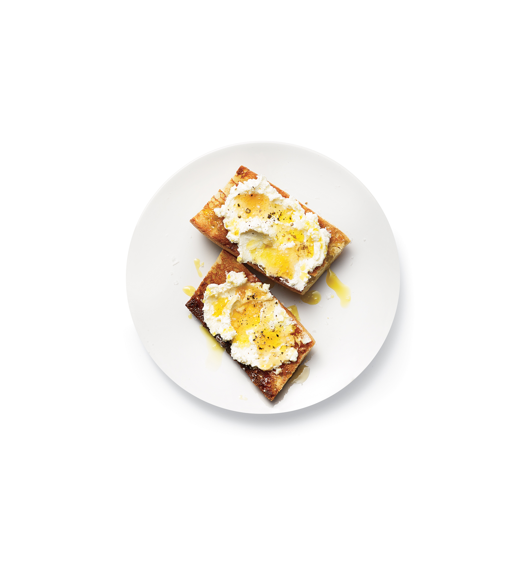 ricotta-olive-oil-honey-toasts