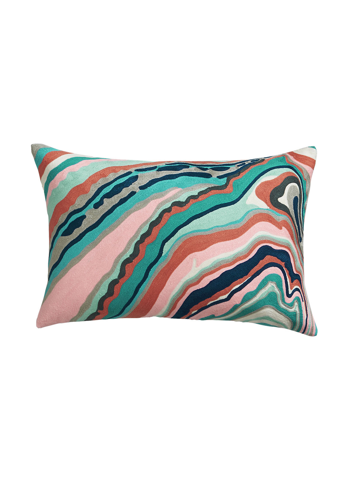 Marble Cascade Pillow