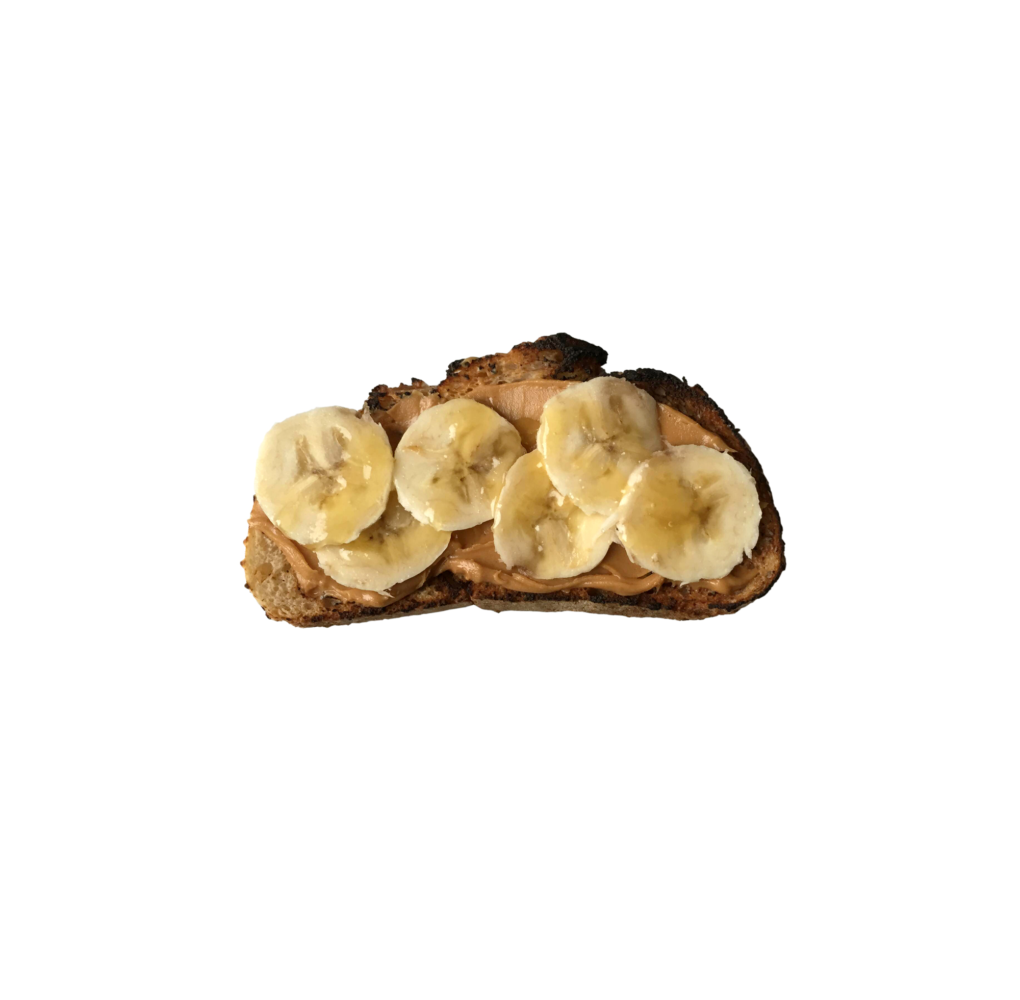 Spicy Almond Butter and Banana Toast