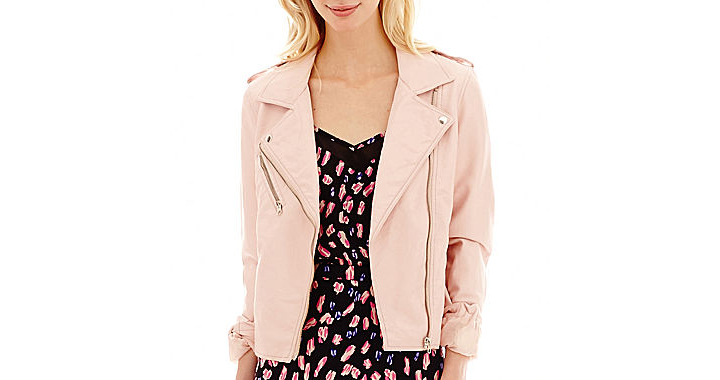 I 'Heart' Ronson Faux-Leather Moto Jacket