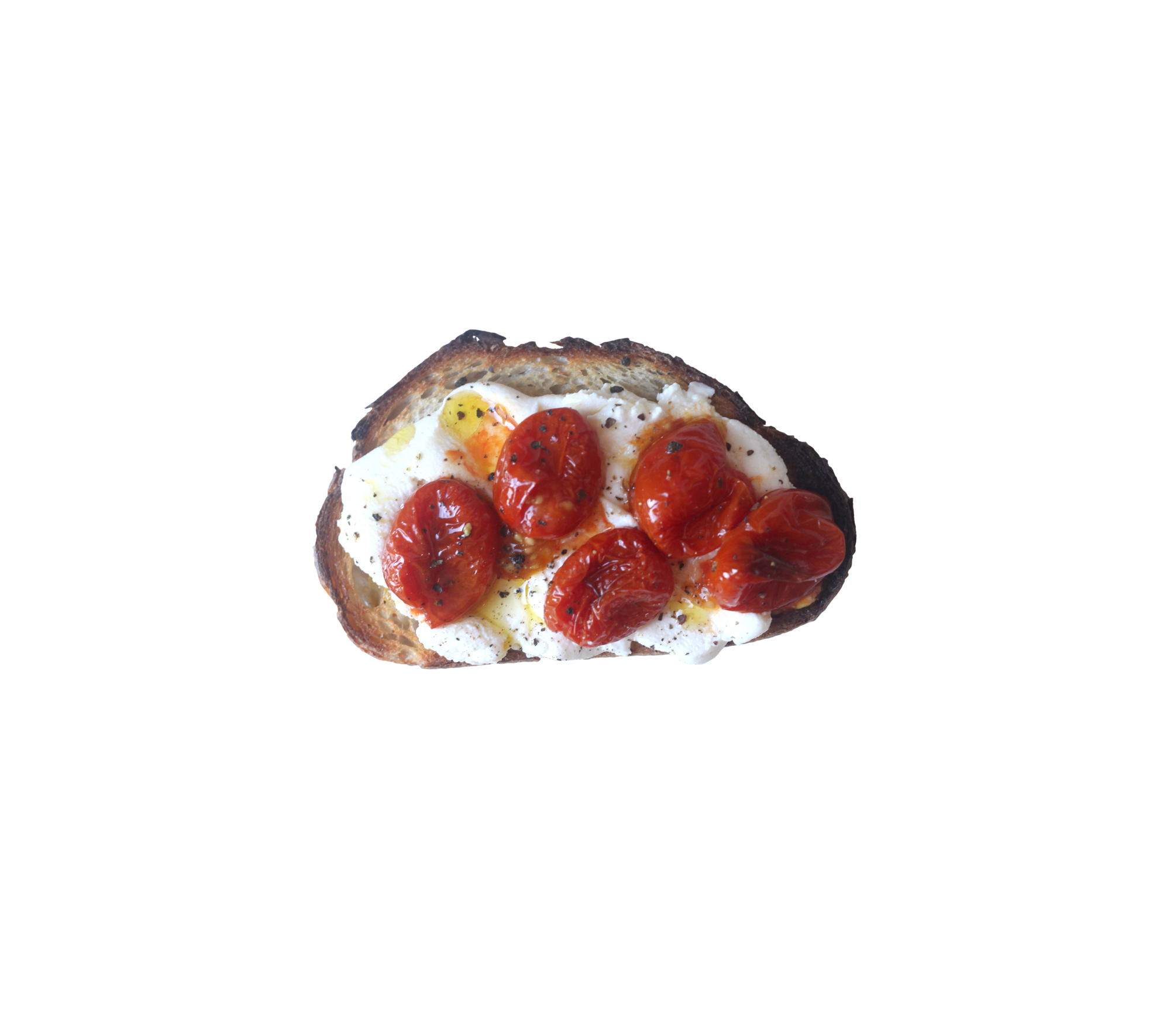 Roasted Tomato and Ricotta Toast