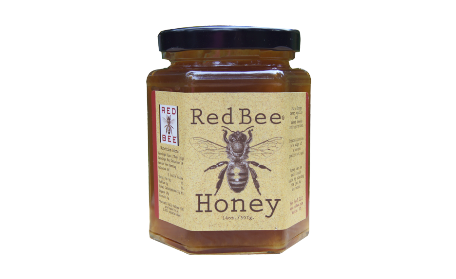 Red Bee Honey Bamboo Honey