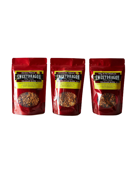Sweetdragon Baking Company Peanut Brittle Bundle