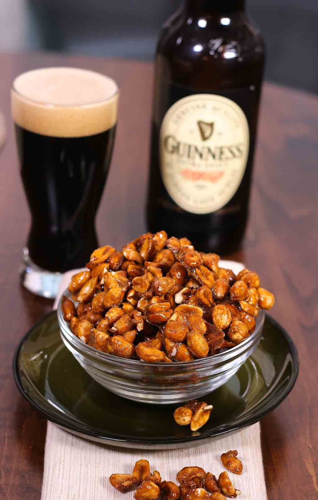 Guinness Glazed Nuts