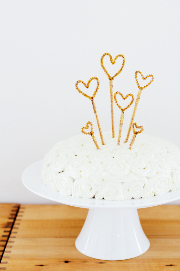 Sparkly Cake Topper