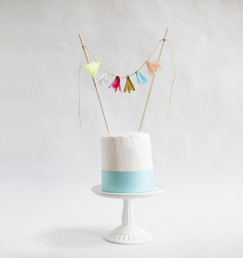 Diy cake toppers for every celebration real simple diy cake toppers for every celebration solutioingenieria Image collections