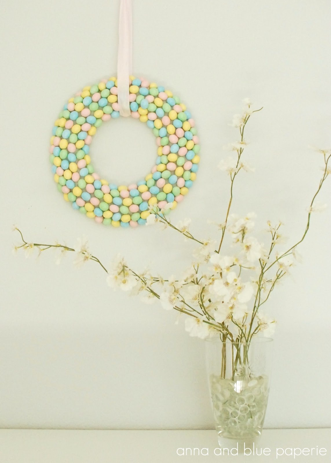 easter candy wreath