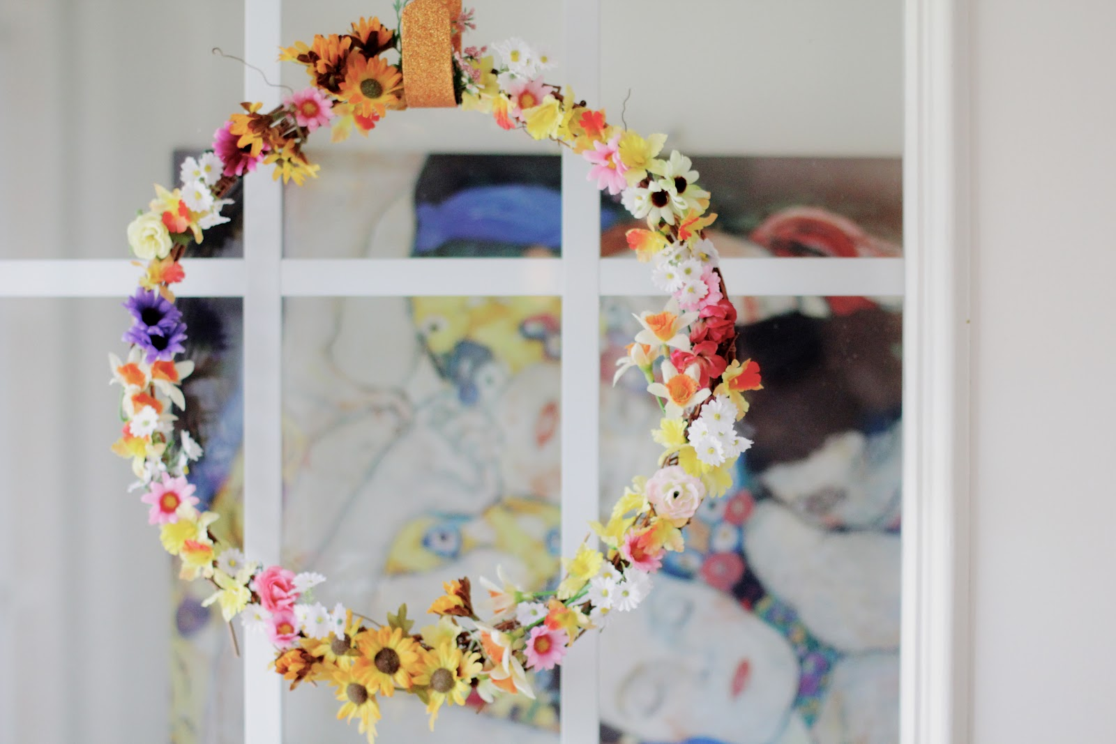 thin spring wreath