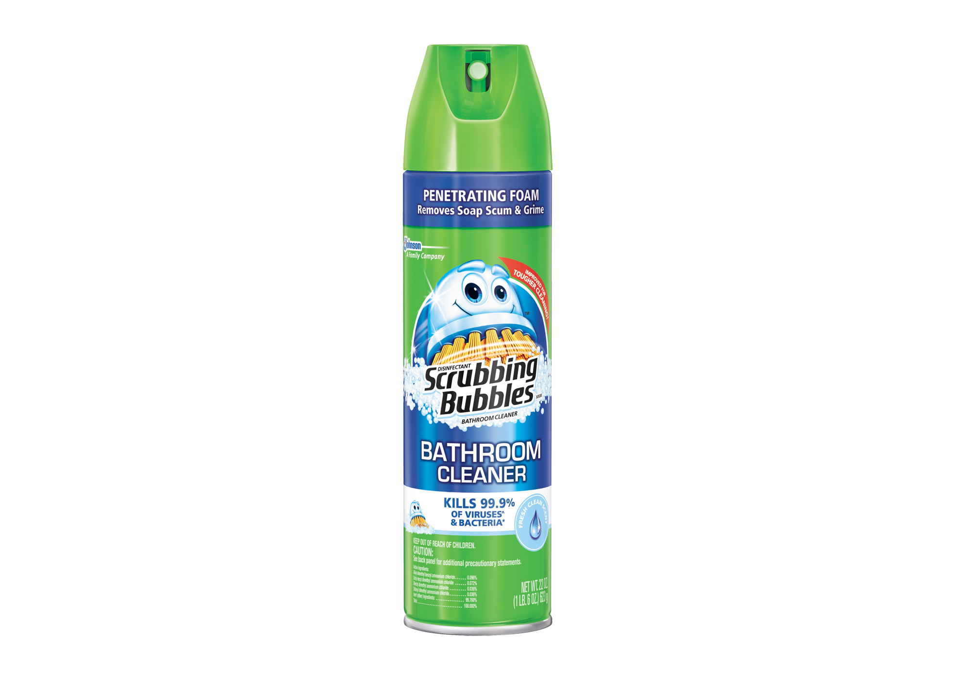 Disinfectant Scrubbing Bubbles Bathroom Cleaner