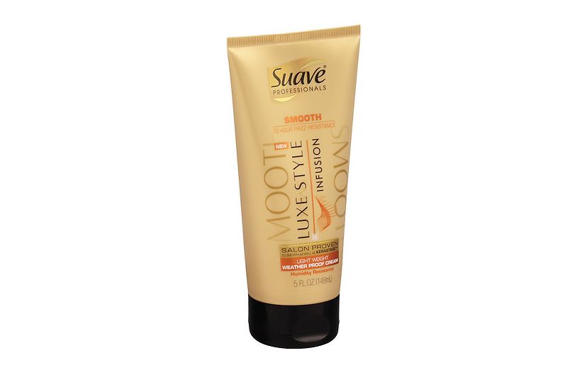 Suave Professionals Luxe Style Infusion Smoothing Light Weight Weather Proof Cream