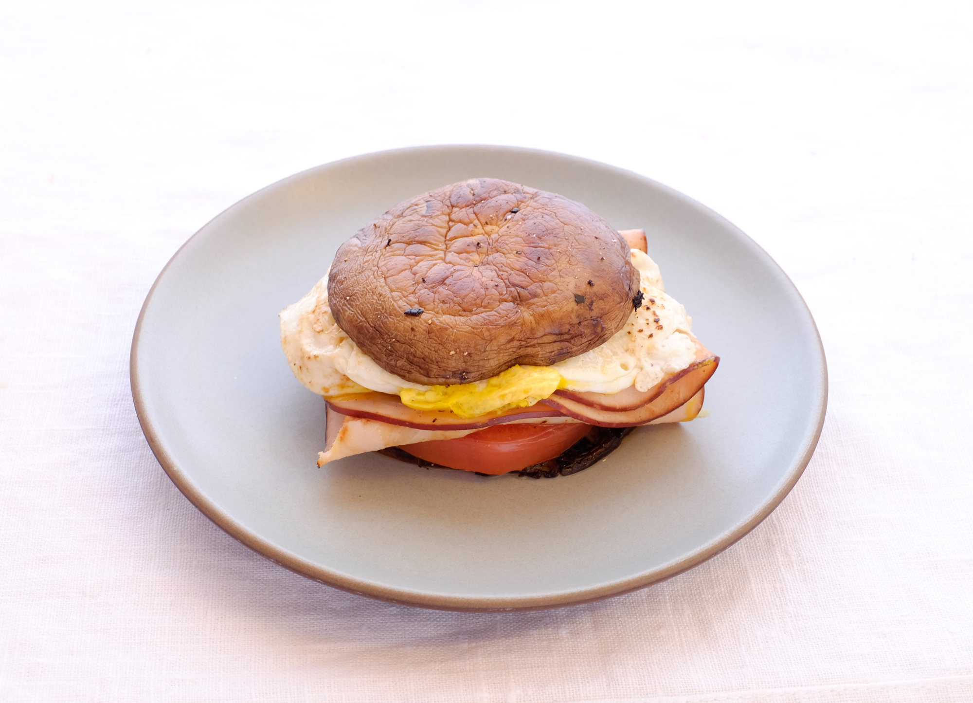Portobello Breakfast Sandwich