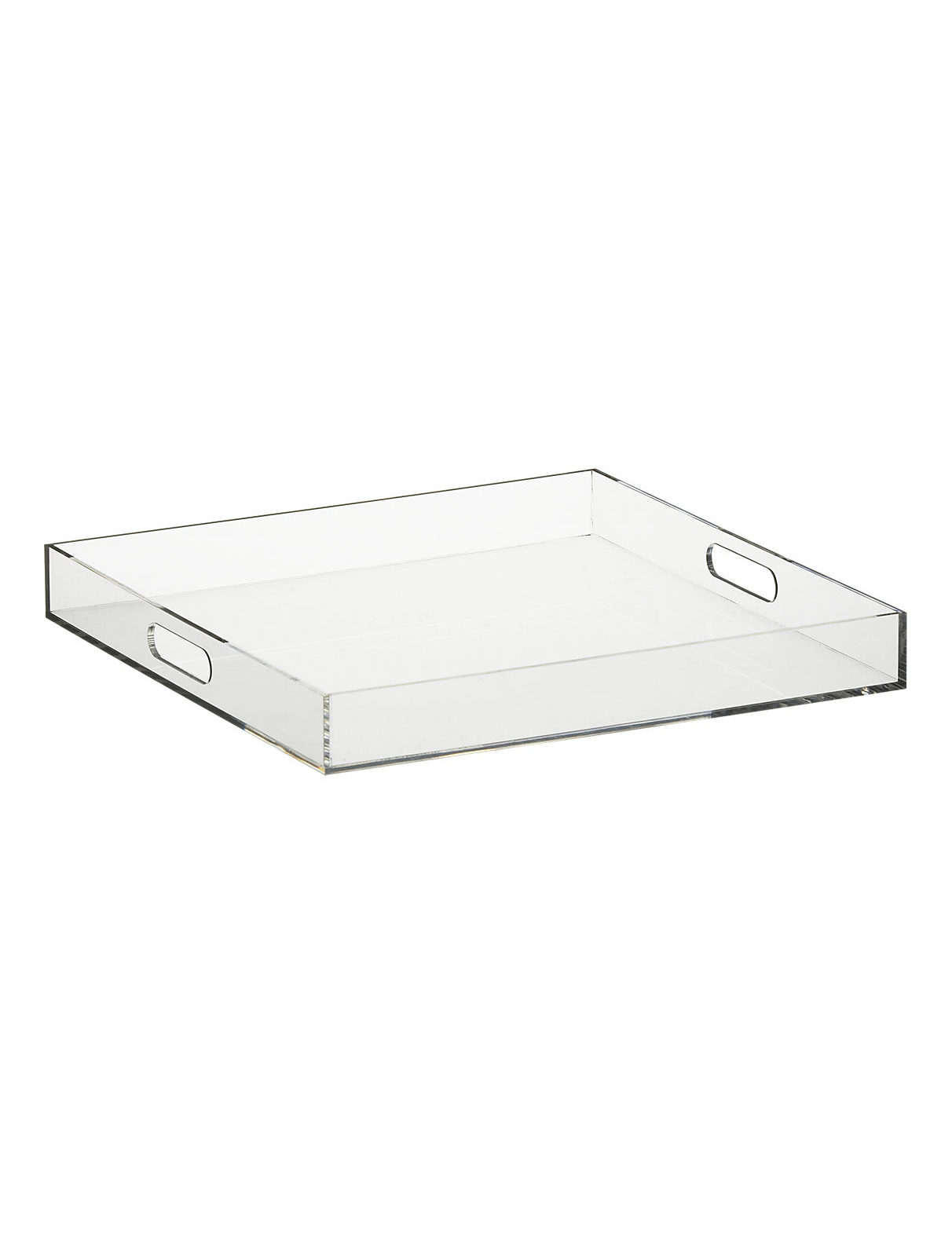 Format Clear Square Tray