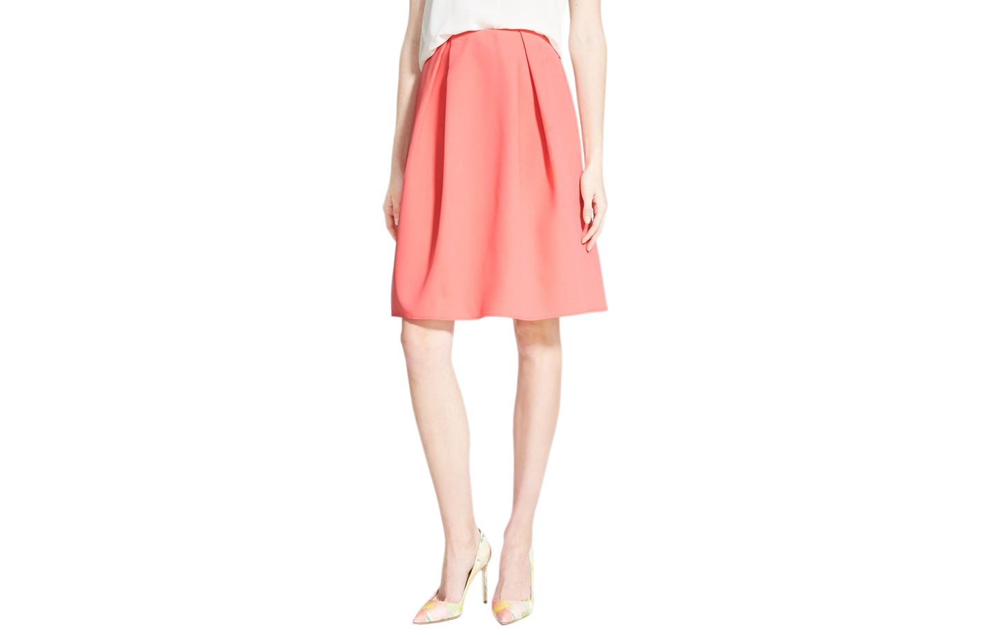 Chelsea 28 Pleated A-Line Skirt