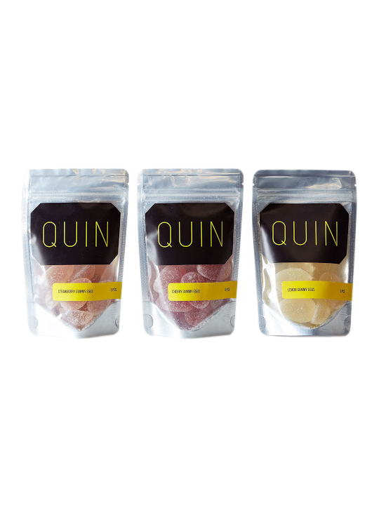 Quin Gummy Egg Candy