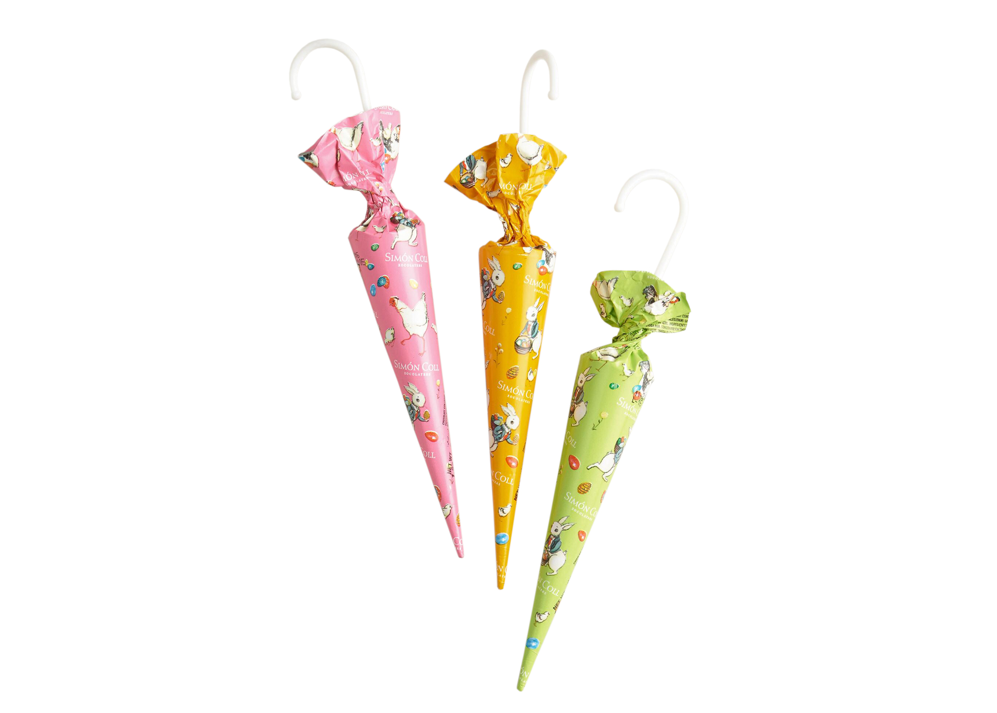 Simon Coll Chocolate Easter Umbrellas