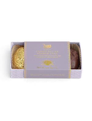 Vosges The Goose's Golden Eggs Organic Peanut Butter Eggs