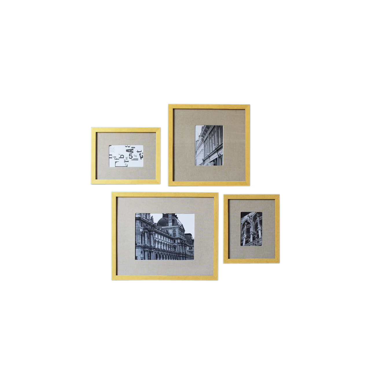 Gallery Frames - Gold Leaf