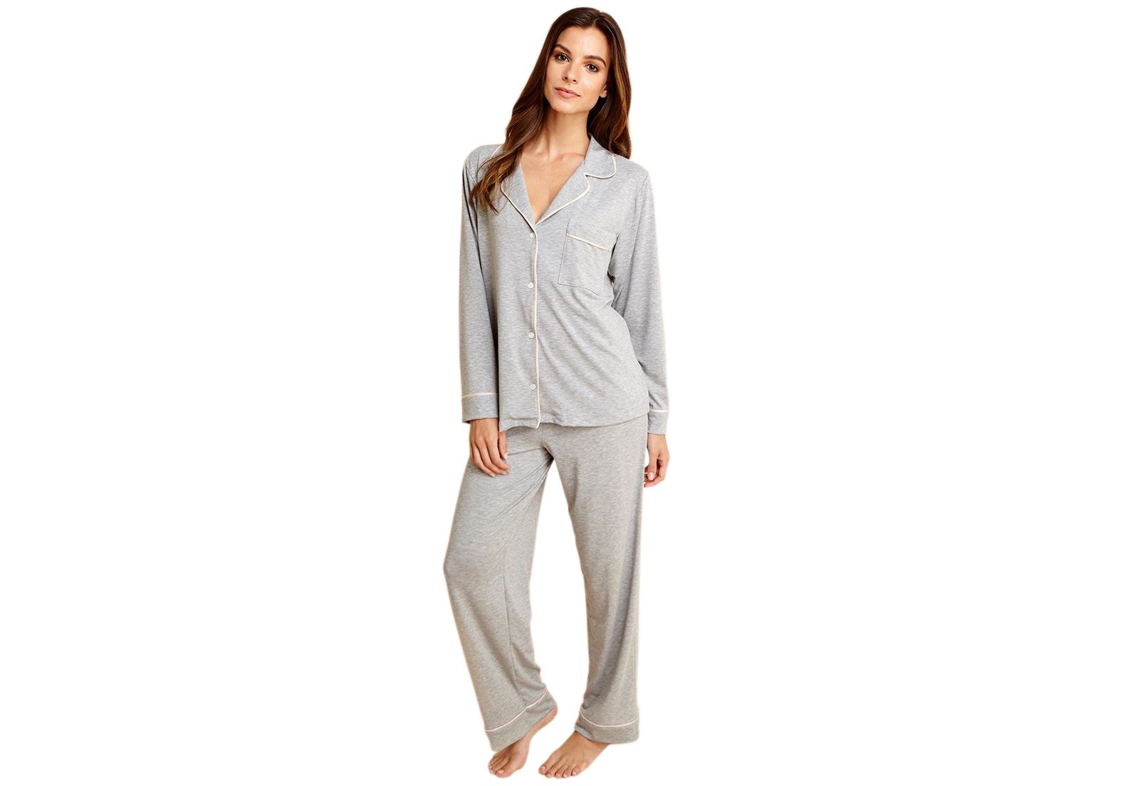 Eberjey Gisele PJ Set heather Gray