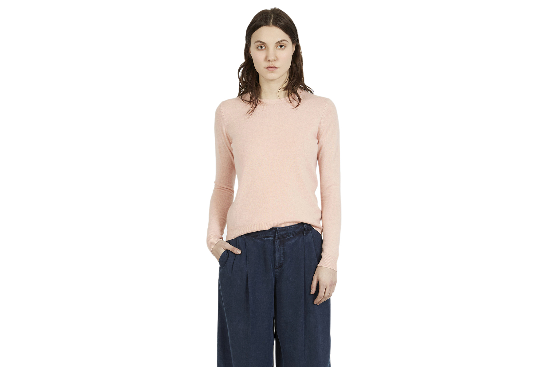 Everlane The Cashmere Crew Blush