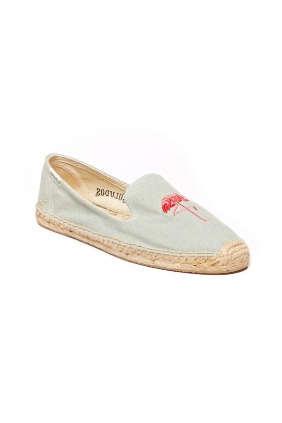 Soludos Flamingo Slipper
