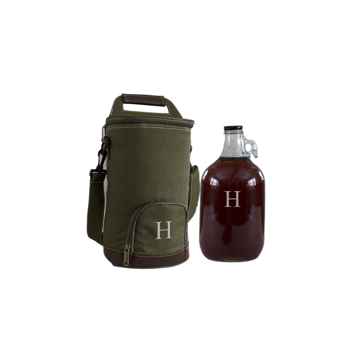 Personalized Growler and Insulated Cooler