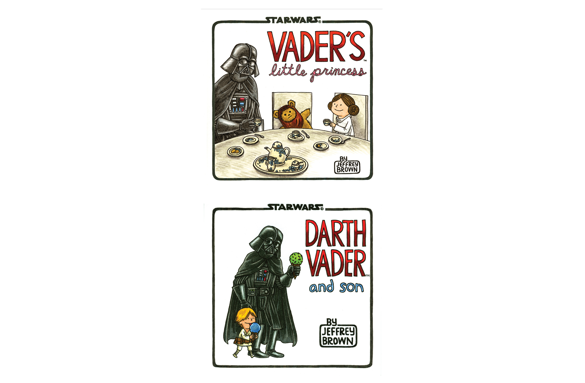 Vader's Little Princess and Darth Vader and Son