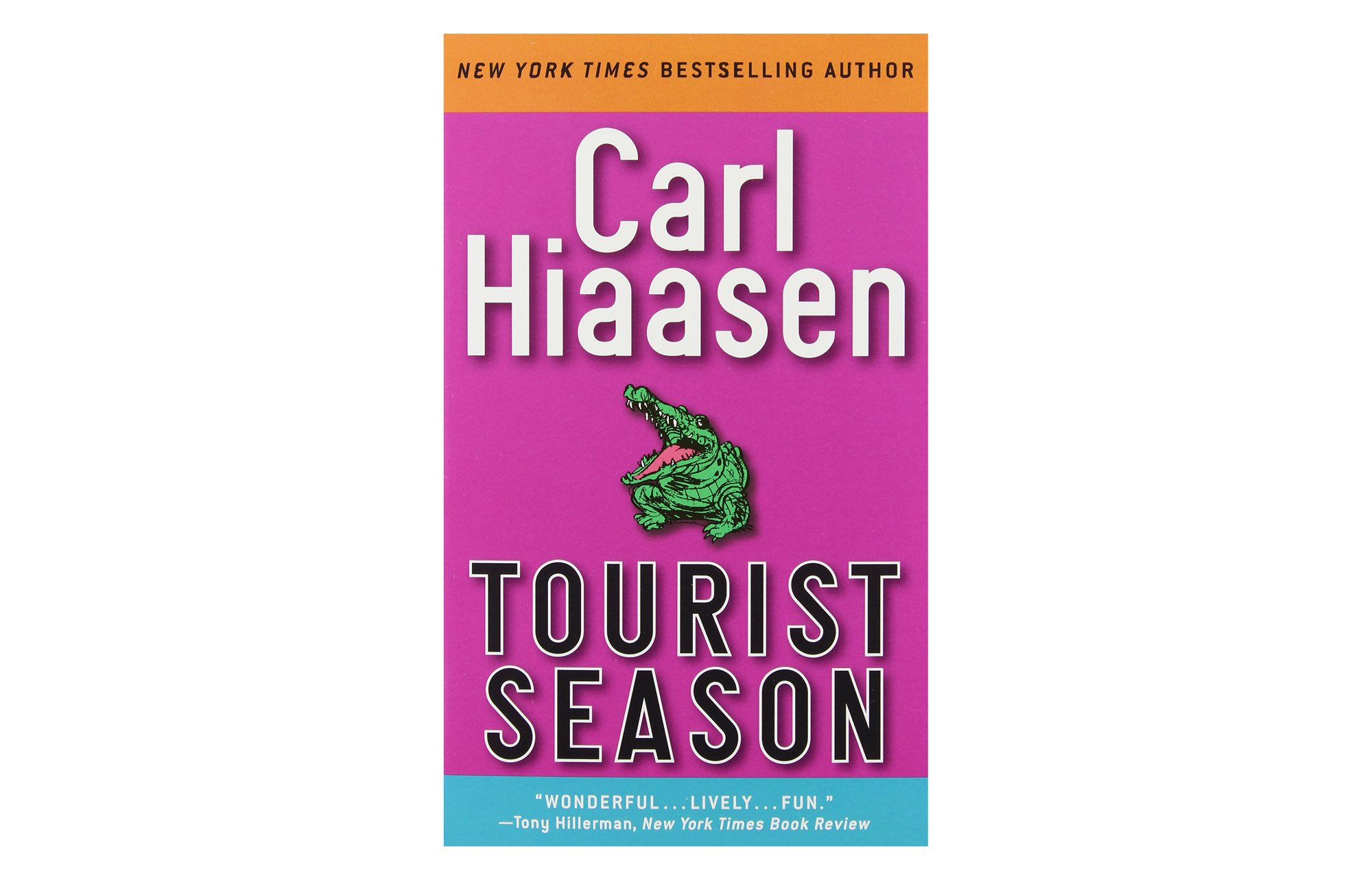 Tourist Season, by Carl Hiaasen