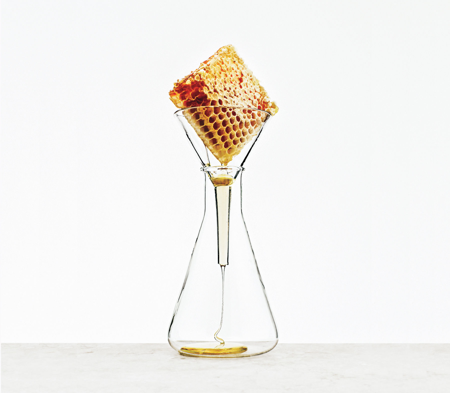 honeycomb-beaker