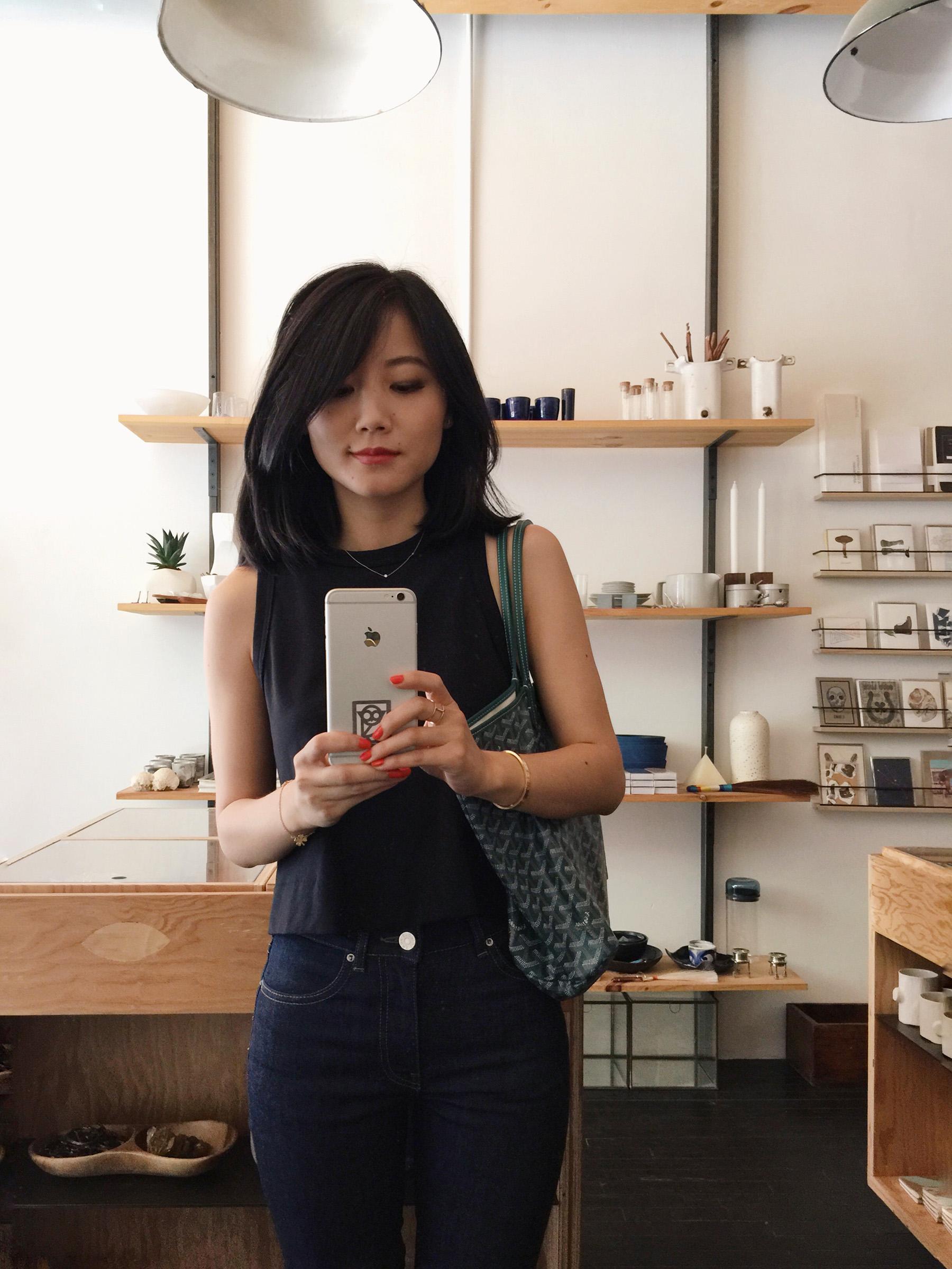 Alice Gao, selfie