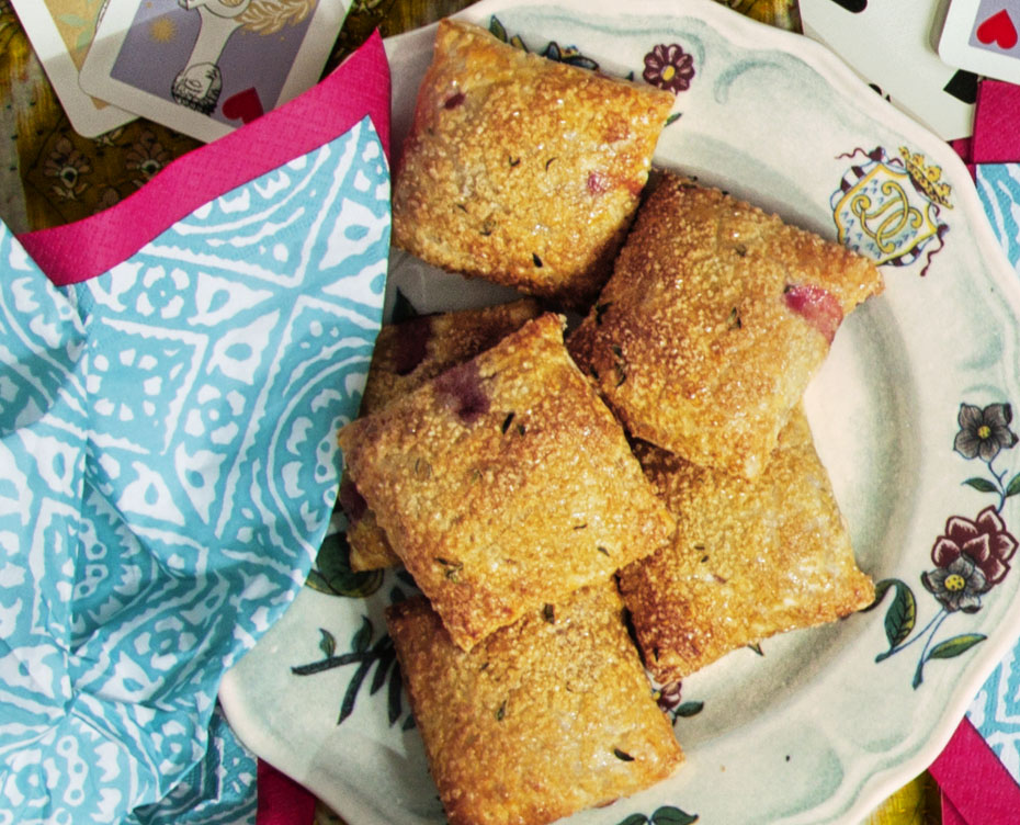 Strawberry-Thyme Hand Pies