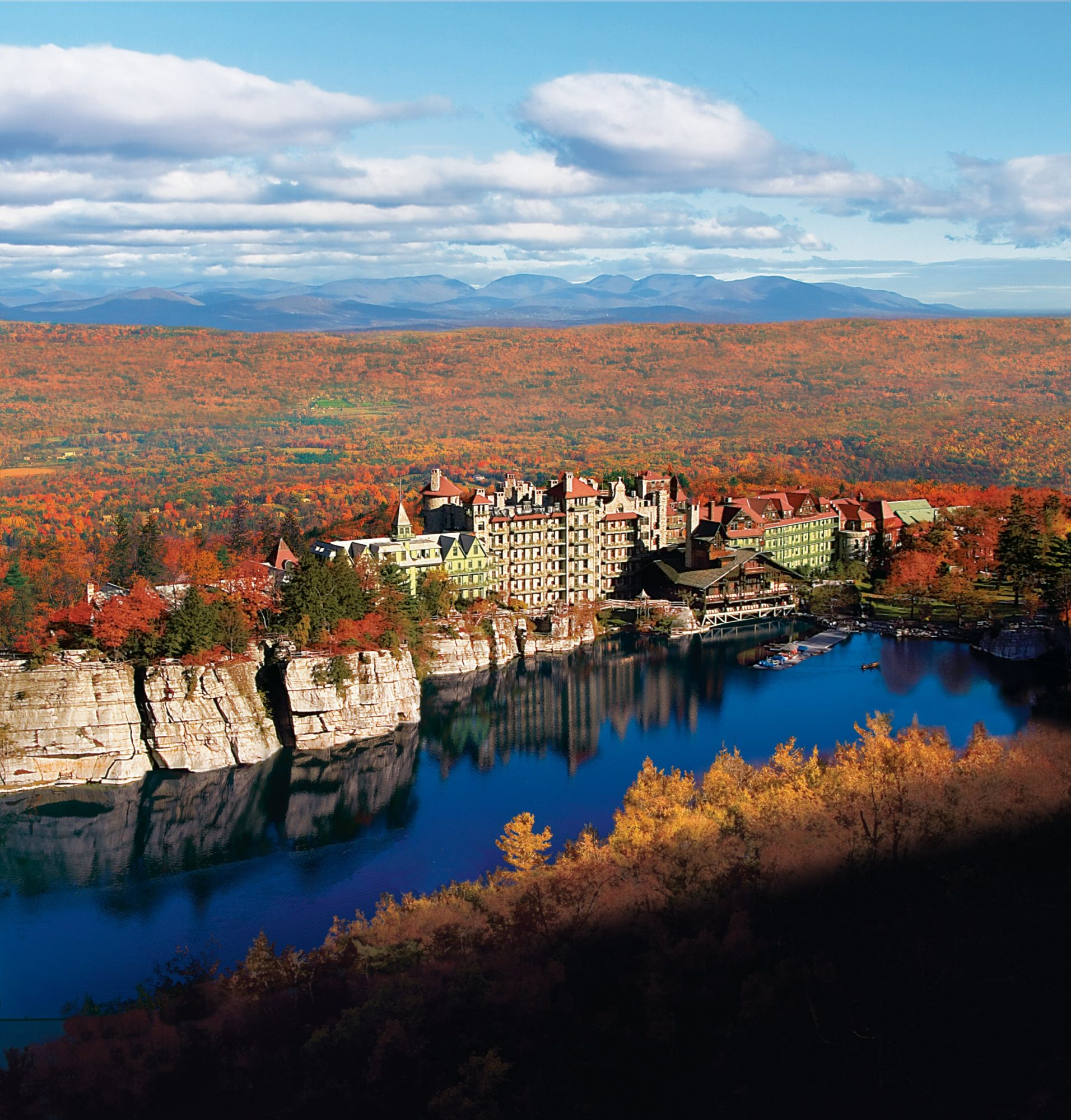 No. 22 (tie) Mohonk Mountain House in New Paltz, New York