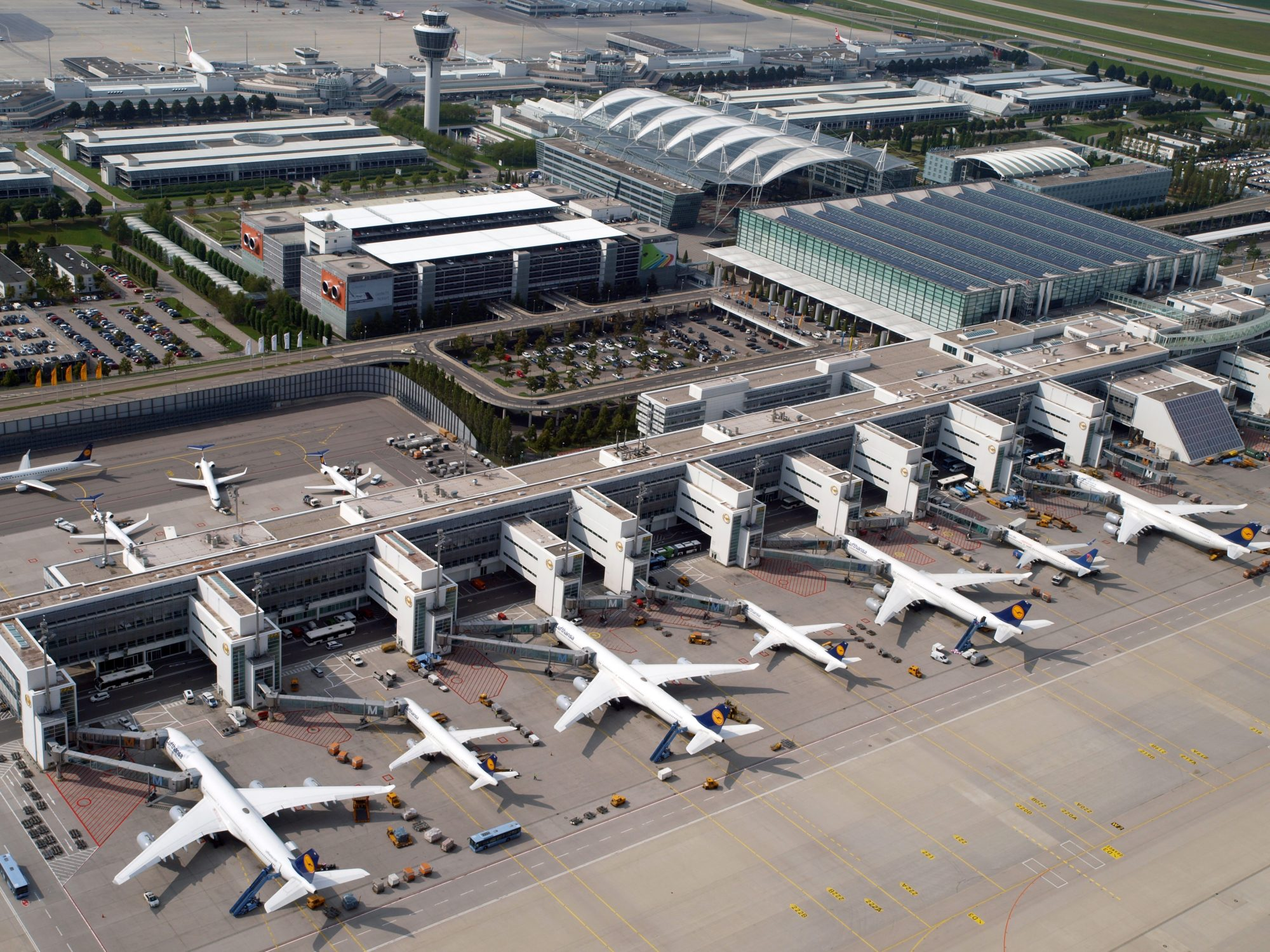 Munich Airport, Germany