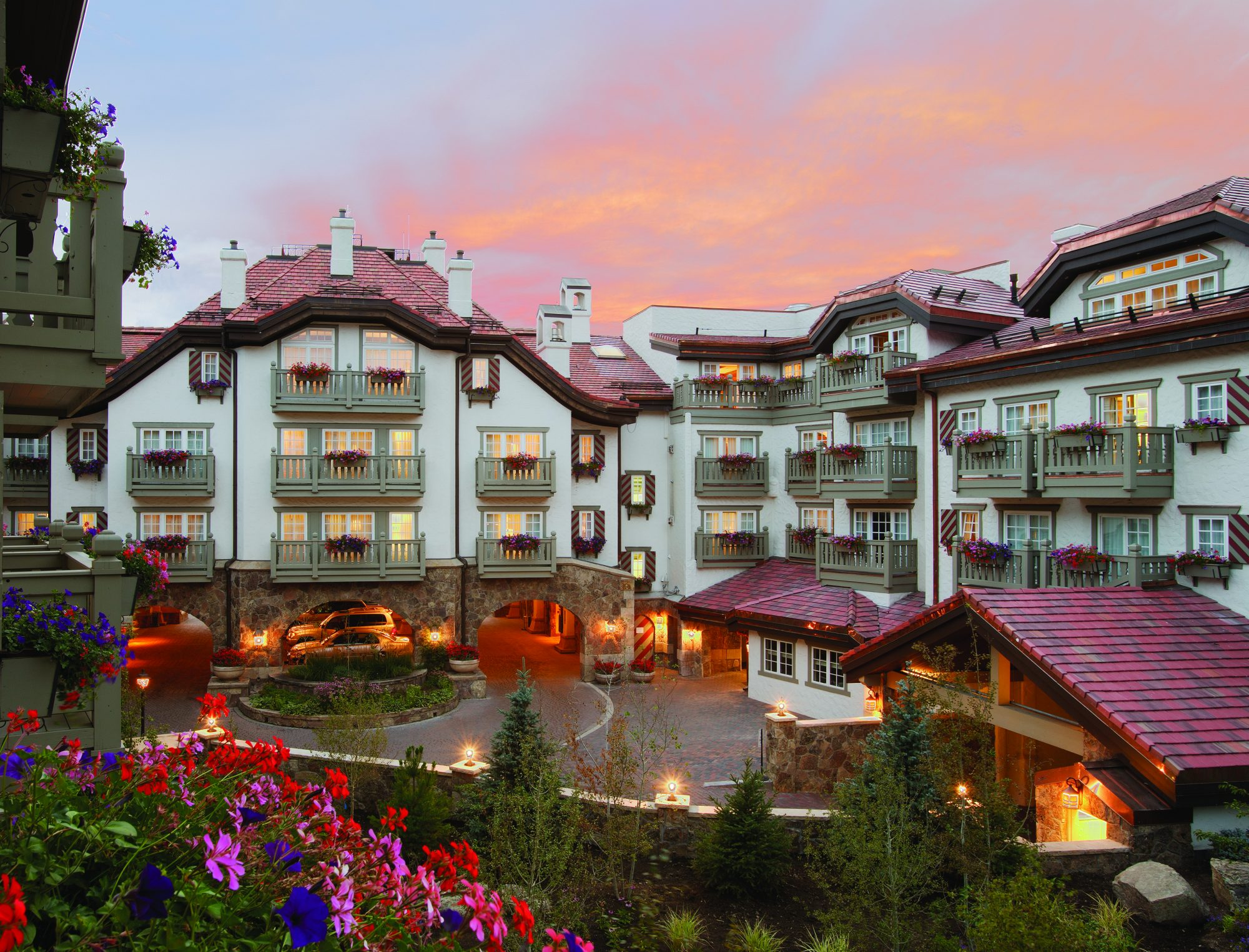No. 15 Sonnenalp Hotel in Vail, Colorado