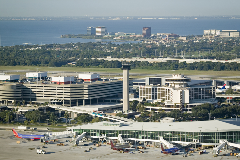 No. 2 Domestic: Tampa International Airport, Florida