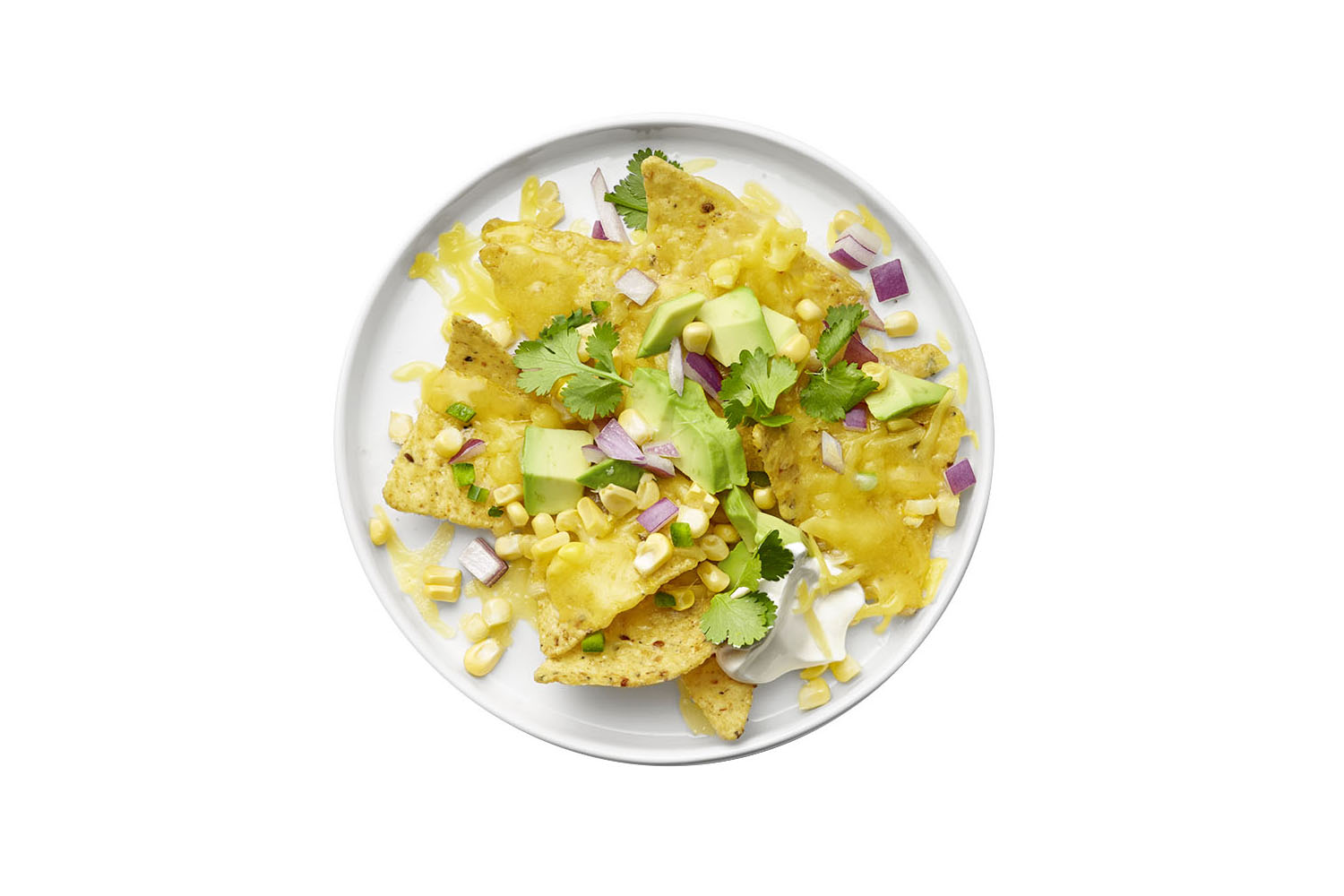 Nachos With Fresh Corn Salsa