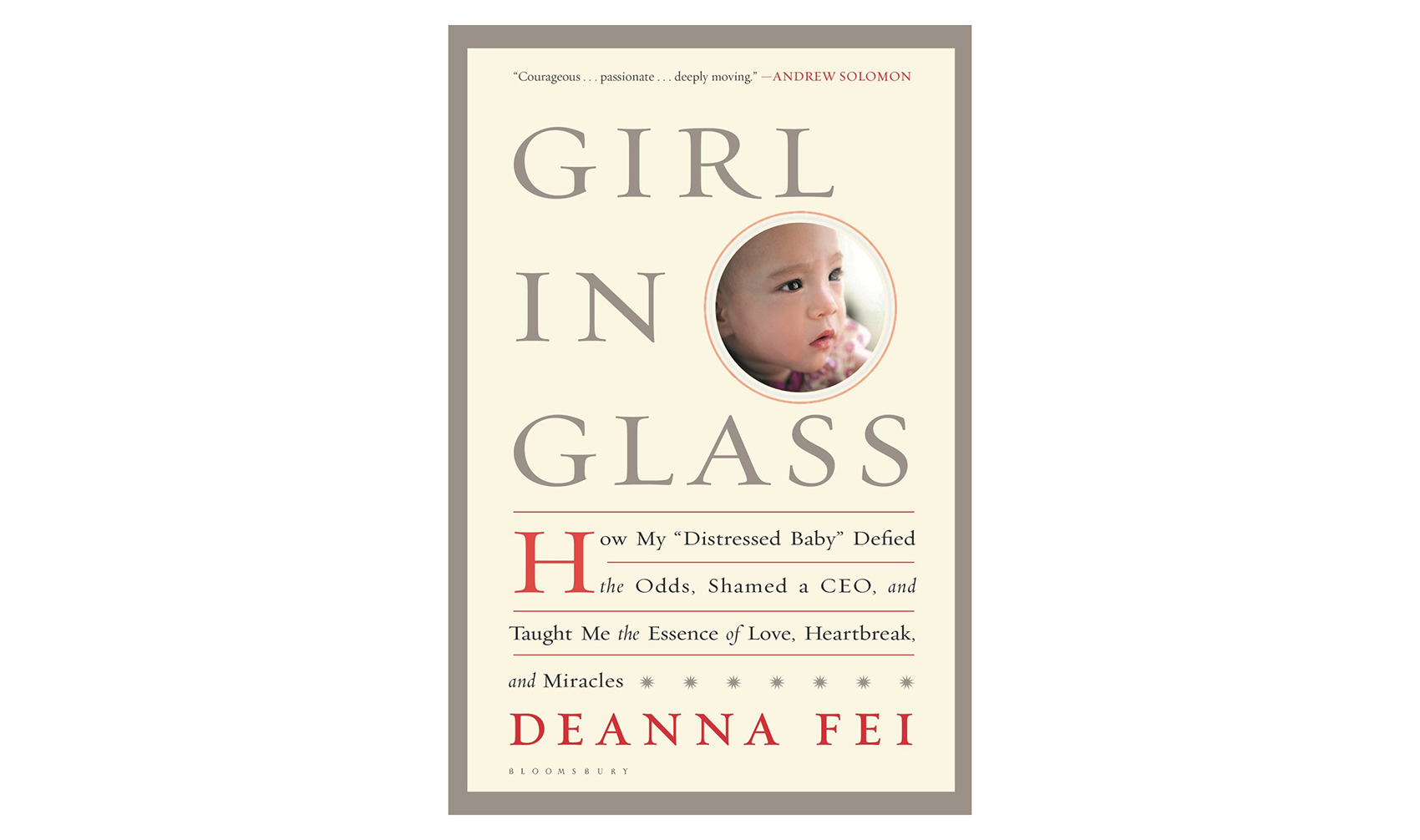 Girl in Glass Book