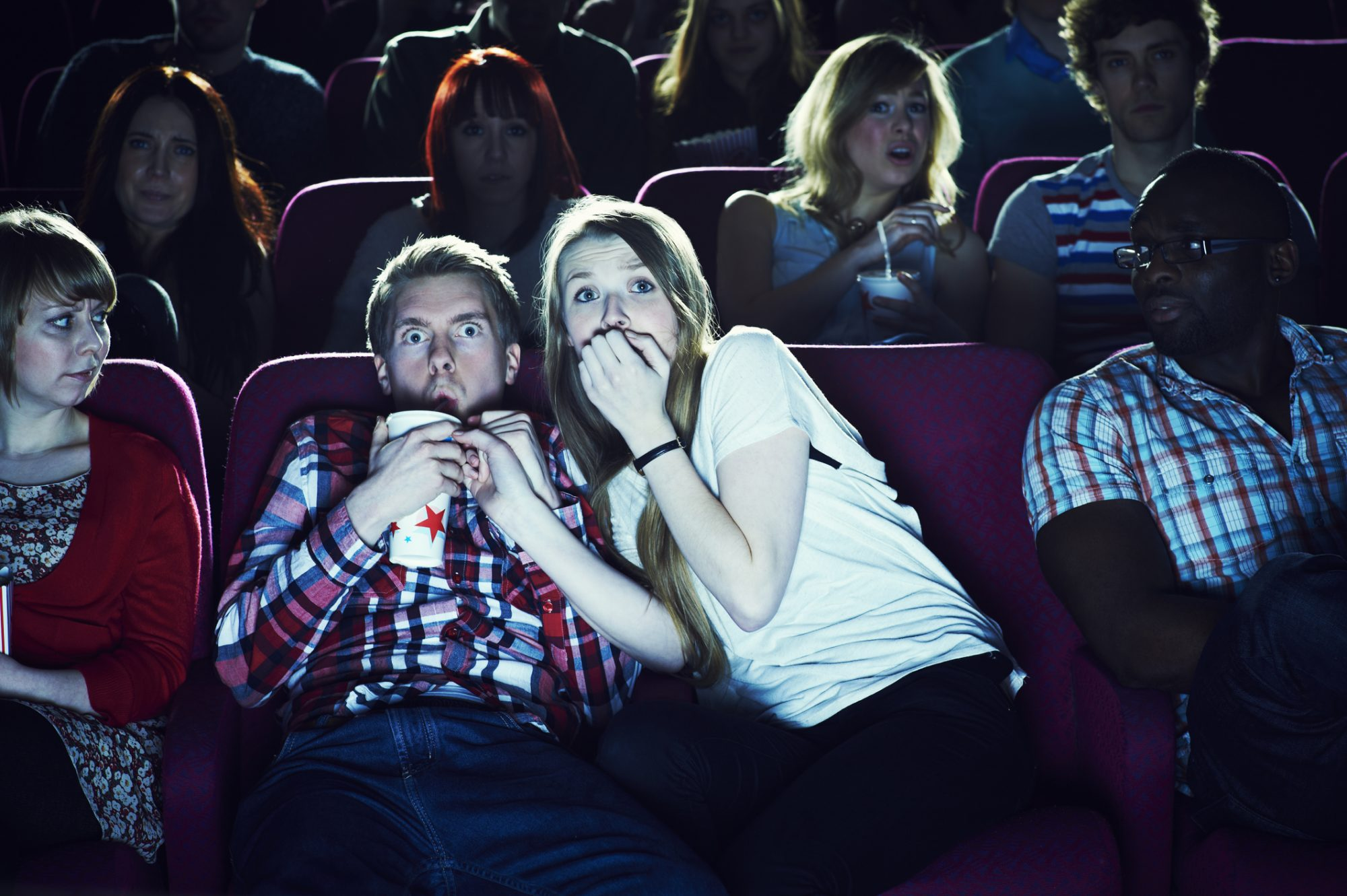 Here's What Happens to Your Brain During a Scary Movie
